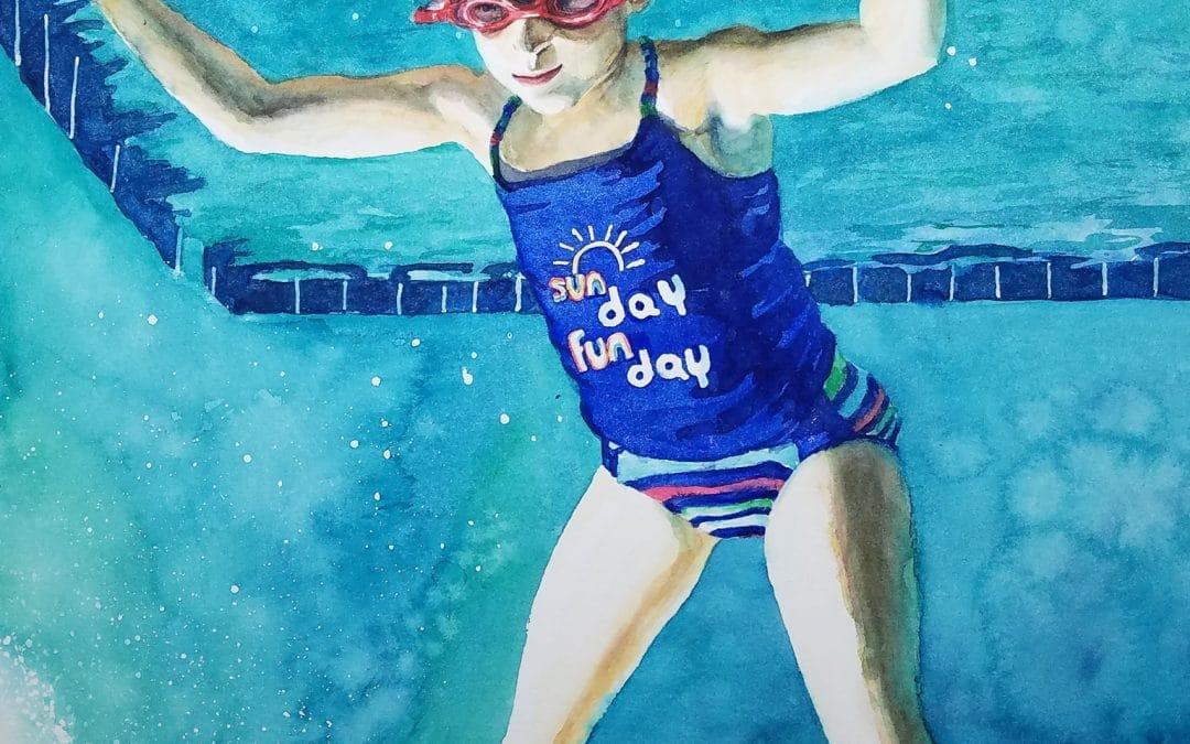 Watercolor Speedpaint: Underwater