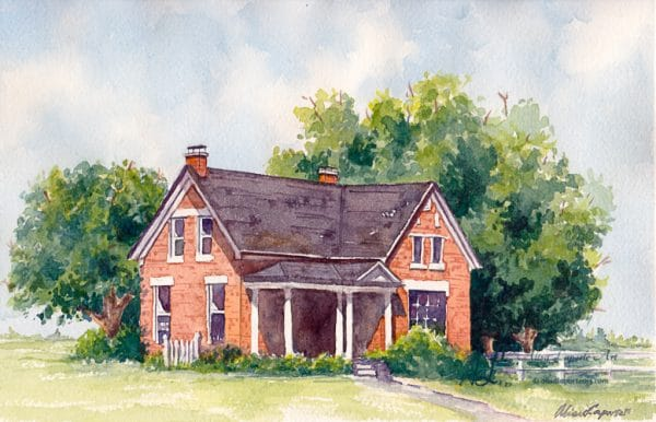 Old Brick Home