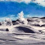 Snow Geyser