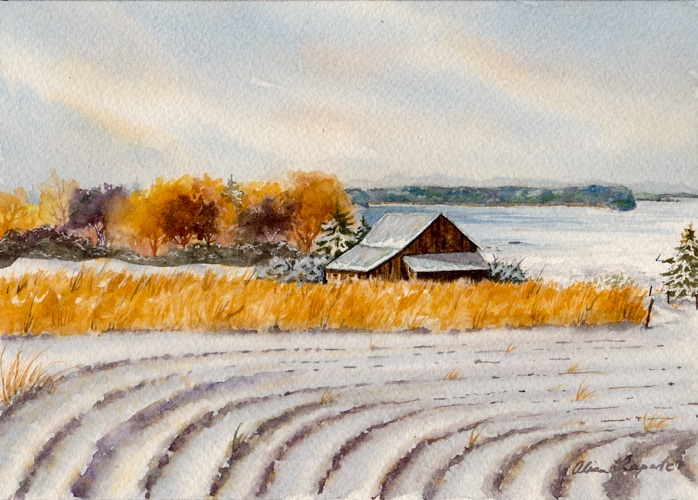 Winter Sets In